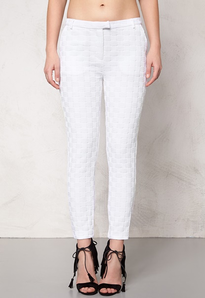 Make Way Aerin Trousers White Bubbleroom.eu