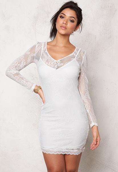 Make Way Athena Dress White Bubbleroom.eu