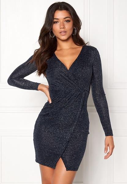 Make Way Cloette Dress Dark blue / Silver Bubbleroom.no