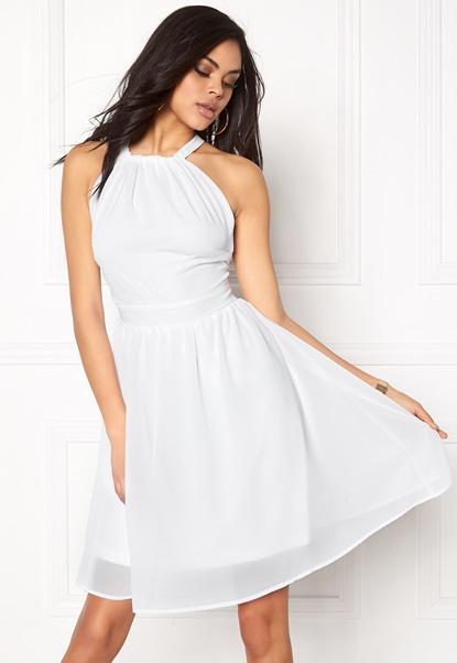 Make Way Cora Dress White Bubbleroom.se