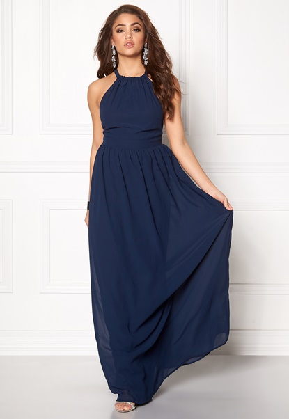 Make Way Cora Maxi Dress Midnight blue Bubbleroom.se