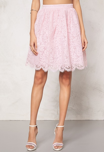 Make Way Elenorah  Skirt Light pink Bubbleroom.eu