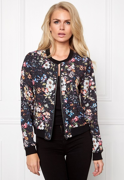 Make Way Emerly Bomber Jacket Floral Bubbleroom.fi