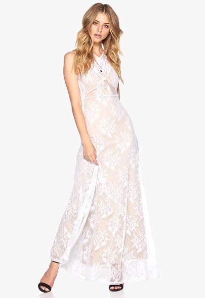 Make Way Evangelie Dress White/Nude Bubbleroom.se