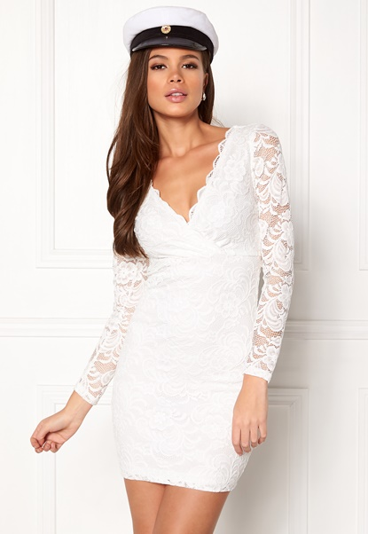 Make Way Martha lace dress White Bubbleroom.se