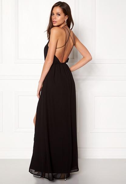 Make Way Sierra Prom Dress Black Bubbleroom.se