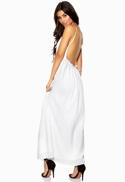 Make Way Tash Dress White Bubbleroom.se