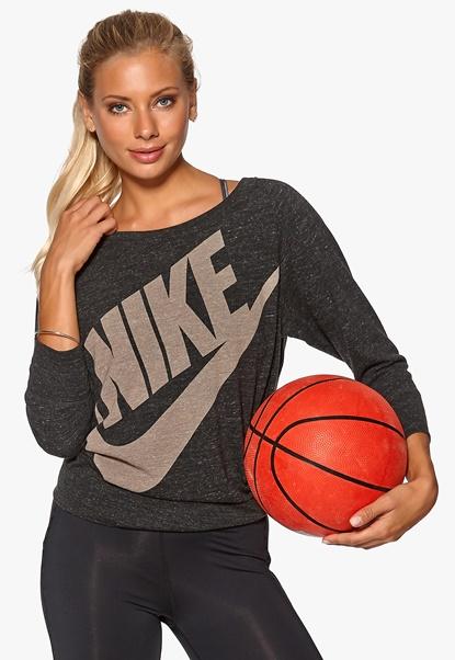 Nike Gym Vintage Crew 010 Black Bubbleroom.se
