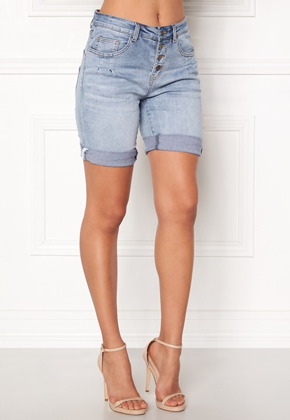 OBJECT Antifitally LW SHorts Light Blue Denim Bubbleroom.se