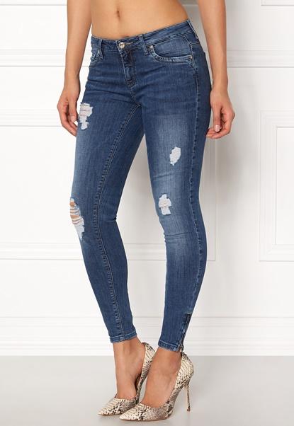 ONLY Kendell Reg Ankle Jeans Medium Blue Denim Bubbleroom.no