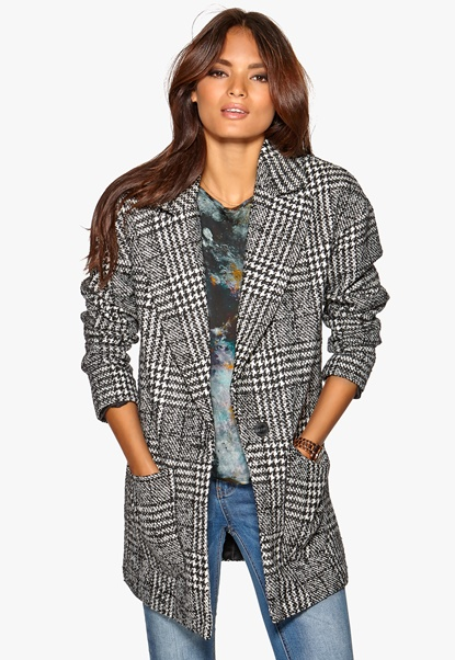 ONLY Picadelly Wool Coat Black1 Bubbleroom.se