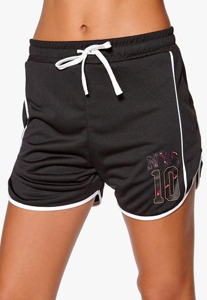 ONLY PLAY Melina Shorts Black Bubbleroom.se