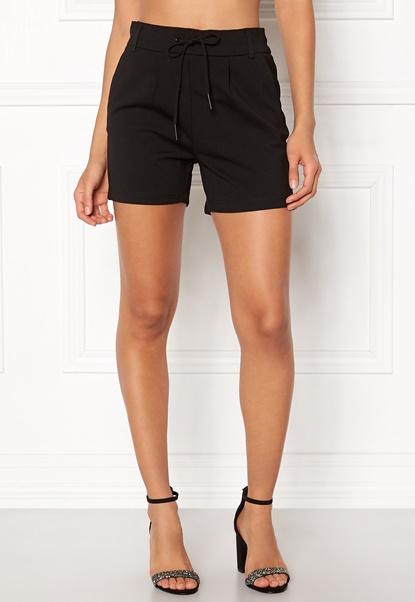 ONLY Poptrash Easy Shorts Black Bubbleroom.se