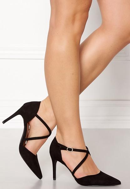 New Look Rexed Strap Point heel Black Bubbleroom.dk