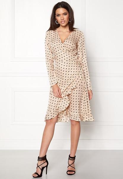 VILA Soap L/S Dress Sandshell Bubbleroom.dk