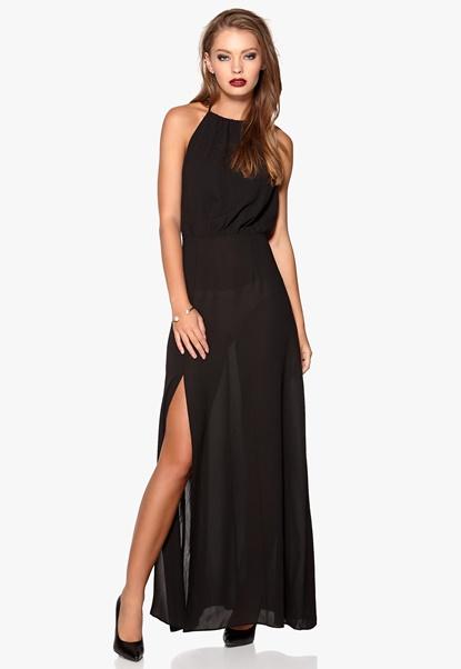 WYLDR Projection Dress Black Bubbleroom.no