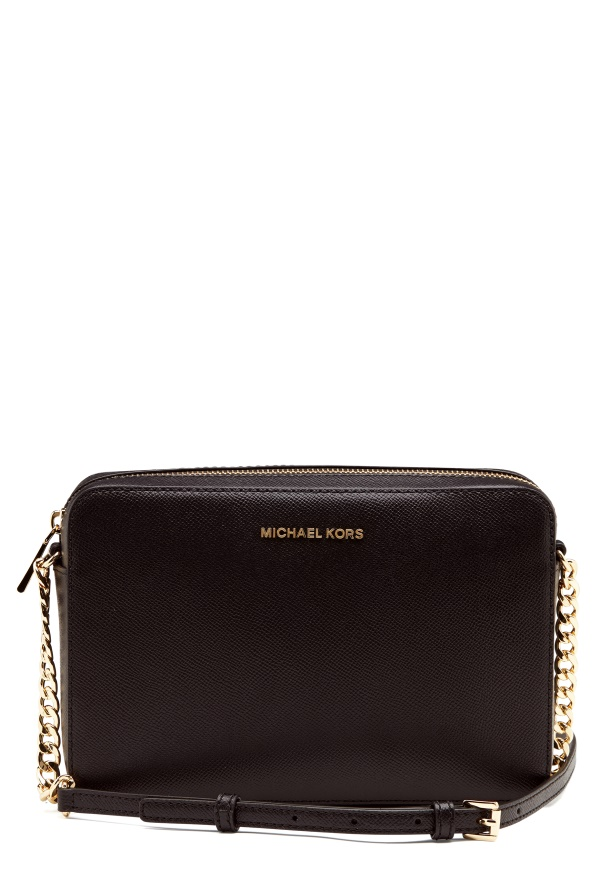 Michael Kors Medium Camera Bag Black i svart   fashionette
