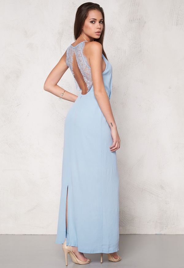 sams u00f8e  u0026 sams u00f8e willow dress long cashmere blue