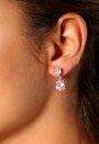VJ by IL BB WOM E8 Earring Rosa