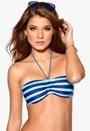 Roxy Shirred Bandeau Boy Brief Blue Wave PQS3