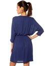SOAKED IN LUXURY Zila Dress 256 Big Blue