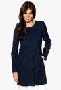 SOAKED IN LUXURY Fancy Coat 287 Night Blue