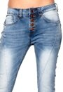 Rut & Circle Button Jeans 686 MD Wash