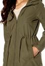 VILA Zoe Detail Jacket Ivy Green