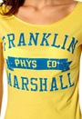 Franklin & Marshall T-shirt Limelight Yellow
