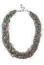 Pieces Danno Necklace Silver Colour