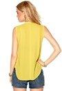 Mexx Blouse 773 Yellow Sheen