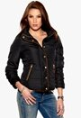 VILA Lonar Padded Jacket Black Bubbleroom.se