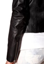 Y.A.S Bono Leather Jacket Black