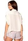 Y.A.S Fair SS Shirt Whisper White