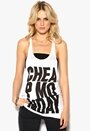 CHEAP MONDAY Shamika Tank White Bubbleroom.se