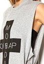 CHEAP MONDAY Morgan XL Tank Grey Melange