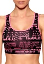 ONLY PLAY Printed Training Top Black/Pink Bubbleroom.se