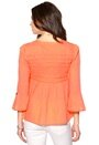 Odd Molly Remix Blouse Bright Orange