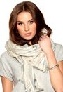 TIGER OF SWEDEN Foietta Scarf 01N White Bubbleroom.se