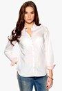 TOMMY HILFIGER 50s poplin combo shirt 100 White Bubbleroom.se