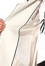 Six Ames Cura Coat 1109 Taupe Grey