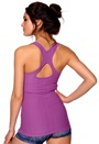 ONLY PLAY Helen Seamless Top Magenta Buzz