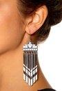 Pieces Otylia Earrings Silver
