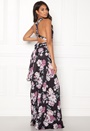 Multi Tie Maxi Dress