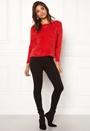 Gaia L/S Plain Pullover