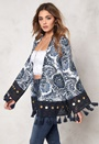 77thFLEA Gurgaon Jacket Blue / Print Bubbleroom.eu
