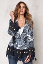 77thFLEA Gurgaon Jacket Blue / Print
