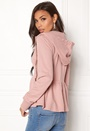 77thFLEA Lucy Peplum Sweater Dusty pink