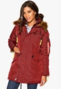 Alpha Industries PPS N3B Burgundy Bubbleroom.se