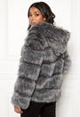 Roma Faux Fur Hood Coat